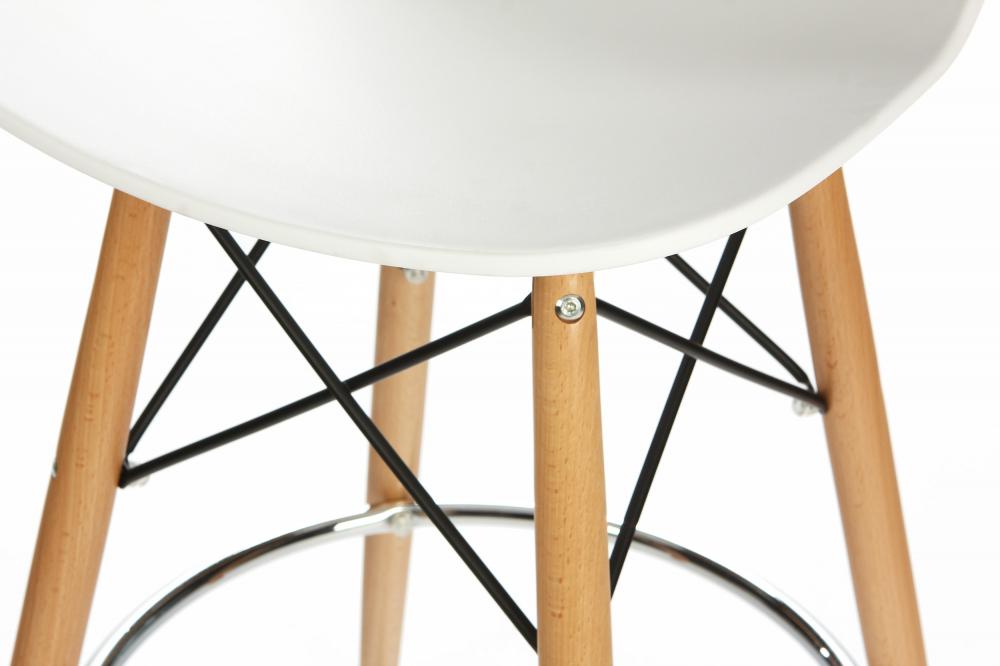Барный стул Eiffel (eames style) белый