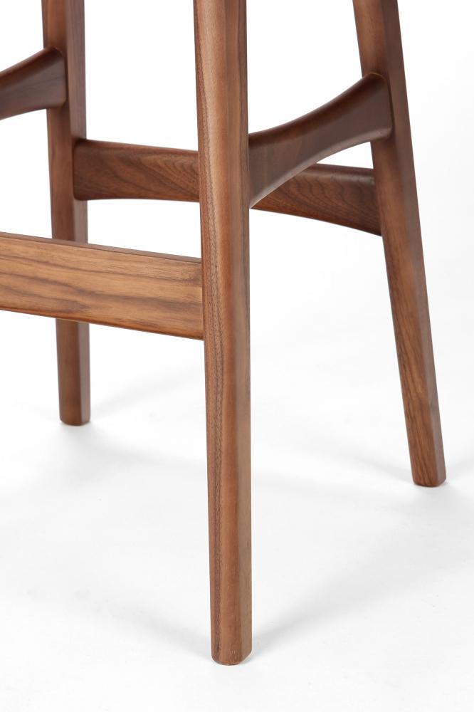Барный стул Allegra высота 77 белый
