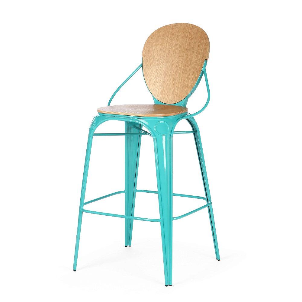 Барный стул Louix бирюзовый