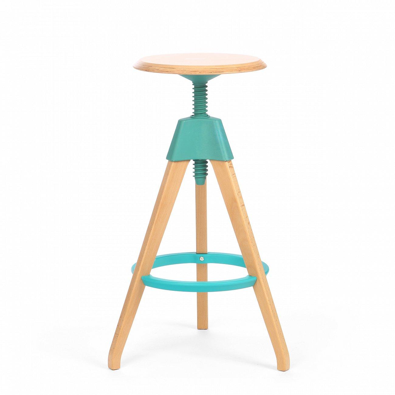 Купить Барный стул Jerry Голубой в интернет магазине дизайнерской мебели и аксессуаров для дома и дачи