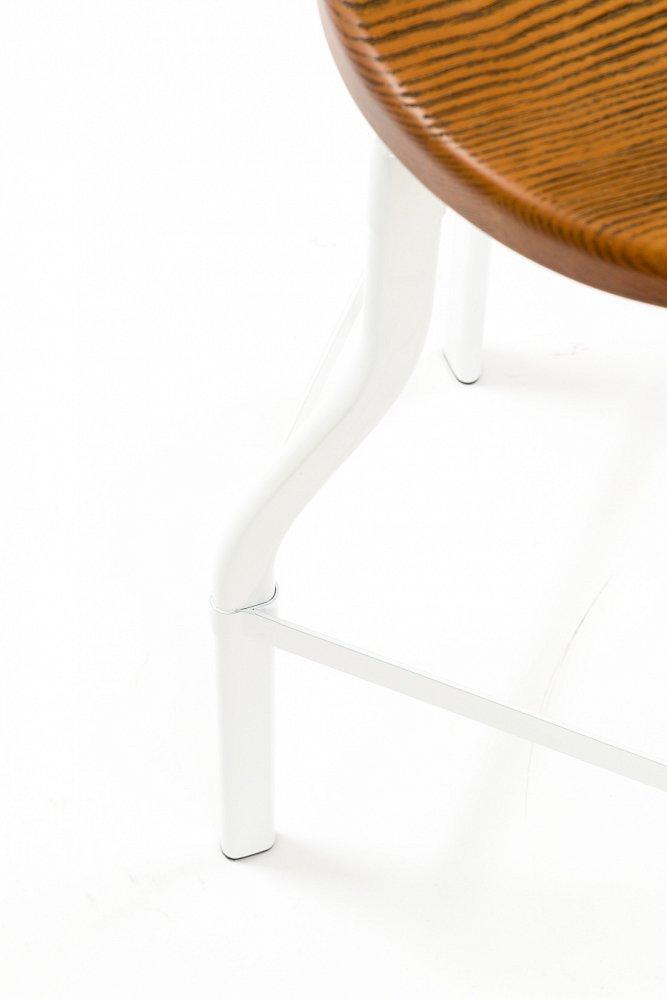 Барный стул Machinist белый