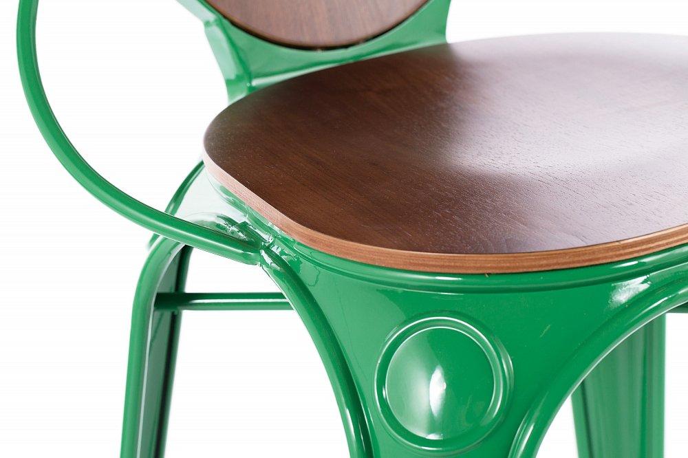 Барный стул Louix зеленый