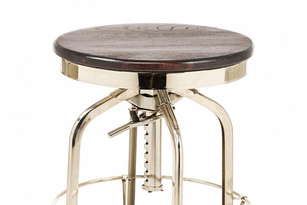 Барный стул Toledo Rondeau без спинки черный
