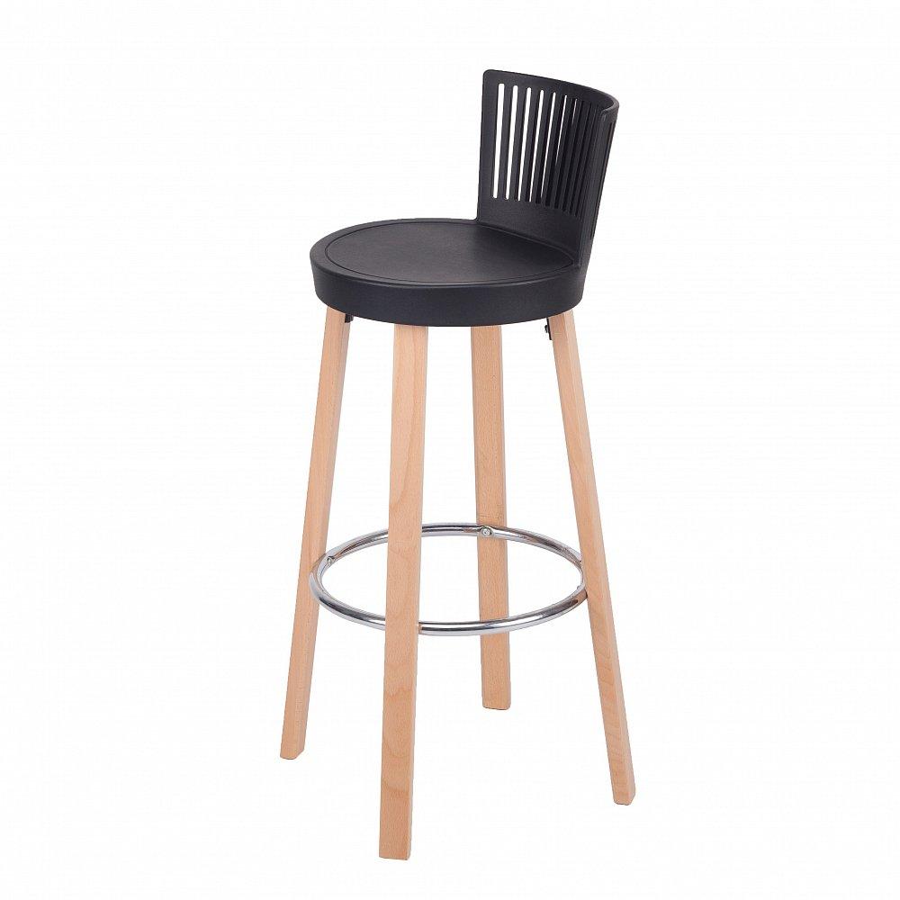 Барный стул Trinidad черный