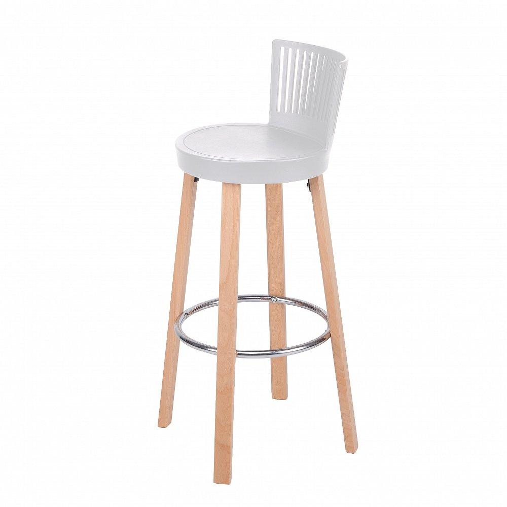 Барный стул Trinidad белый