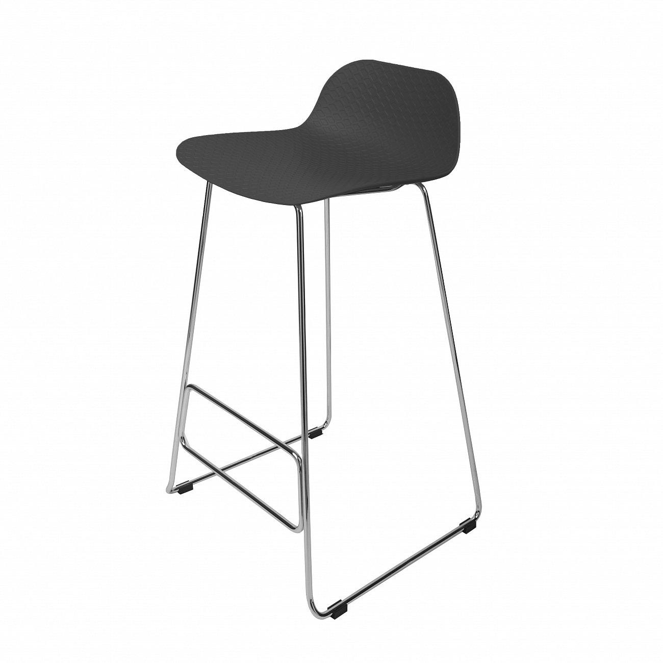 Купить Барный стул Catina Чёрный в интернет магазине дизайнерской мебели и аксессуаров для дома и дачи