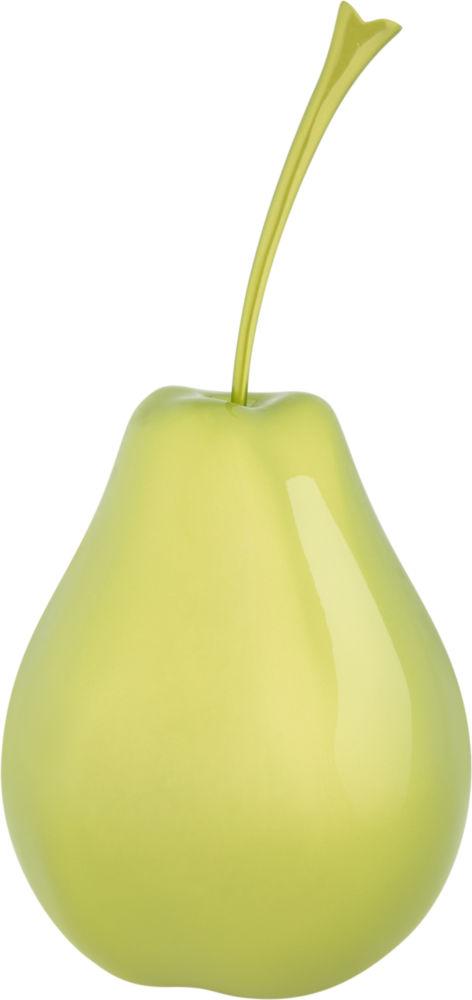 Купить Декор Pear metallic light green small в интернет магазине дизайнерской мебели и аксессуаров для дома и дачи