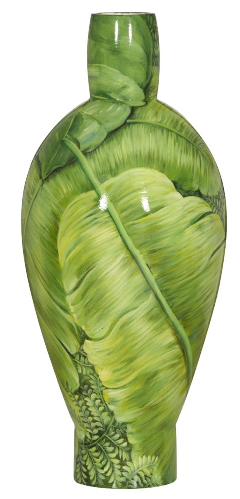 Купить Ваза настольная Leaves tall в интернет магазине дизайнерской мебели и аксессуаров для дома и дачи