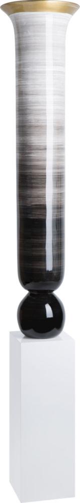 Купить Ваза напольная Nebula tall black white в интернет магазине дизайнерской мебели и аксессуаров для дома и дачи