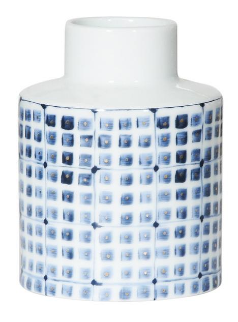 Купить Ваза настольная Blue Amsterdam middle в интернет магазине дизайнерской мебели и аксессуаров для дома и дачи