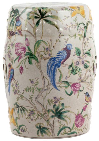 Купить Керамический столик-табурет Garden Stool Сад в интернет магазине дизайнерской мебели и аксессуаров для дома и дачи
