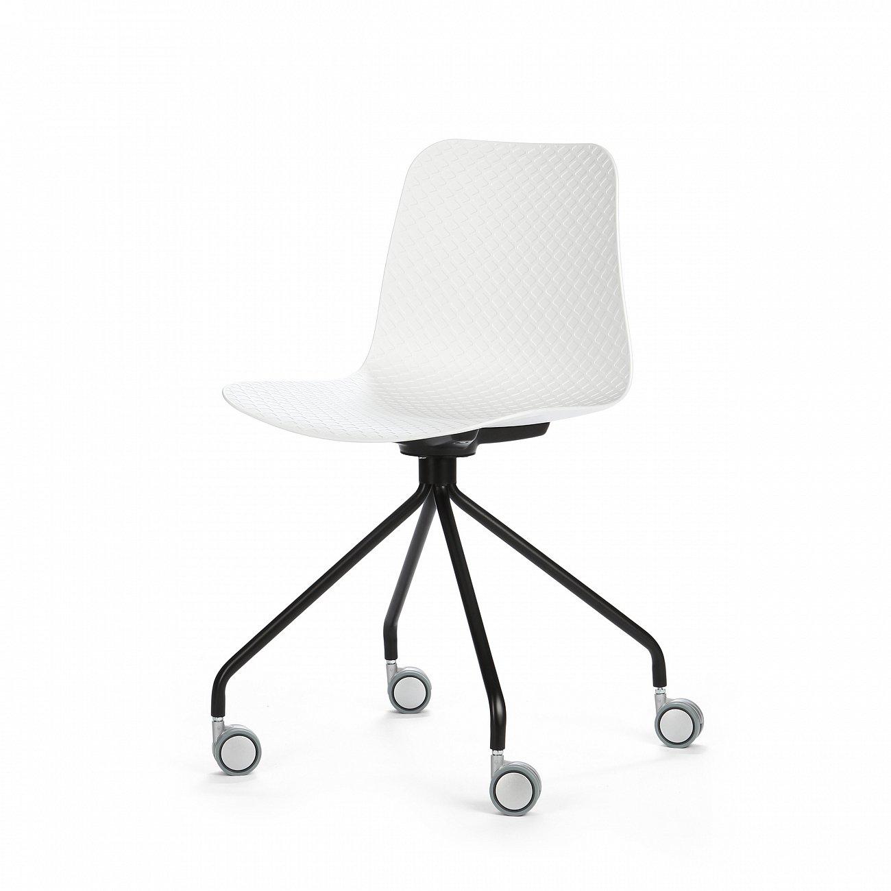 Купить Стул Glide на колесиках в интернет магазине дизайнерской мебели и аксессуаров для дома и дачи