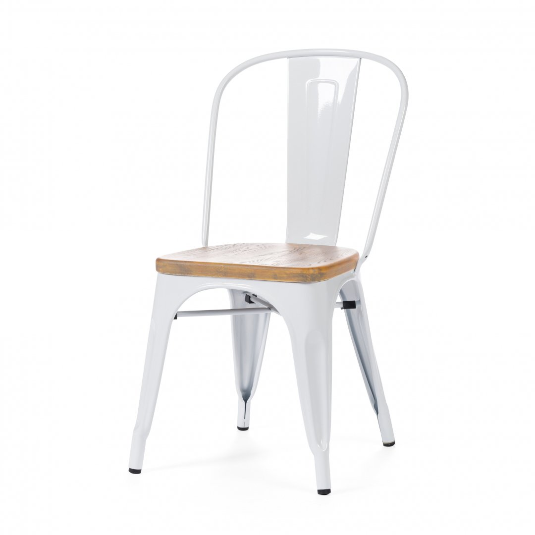 Купить Стул Marais Wood Белый в интернет магазине дизайнерской мебели и аксессуаров для дома и дачи