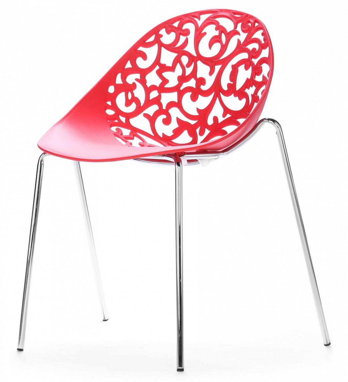 Купить Стул Aurora Красный малый в интернет магазине дизайнерской мебели и аксессуаров для дома и дачи