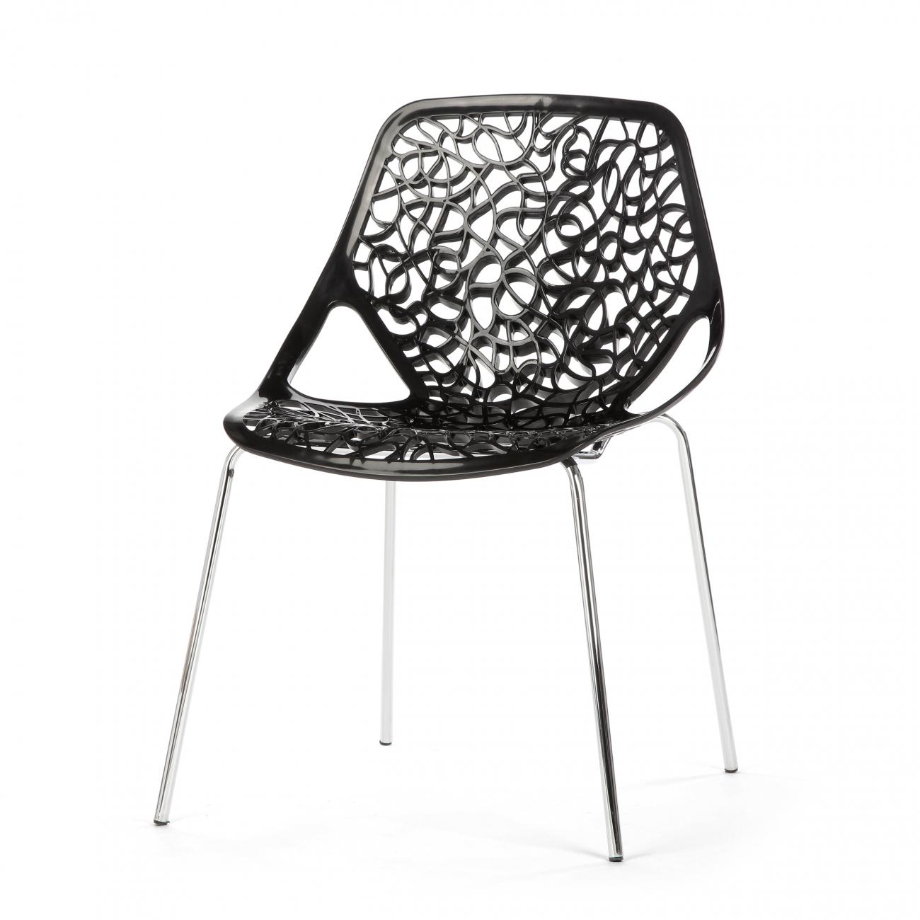 Купить Стул Caprice Чёрный в интернет магазине дизайнерской мебели и аксессуаров для дома и дачи