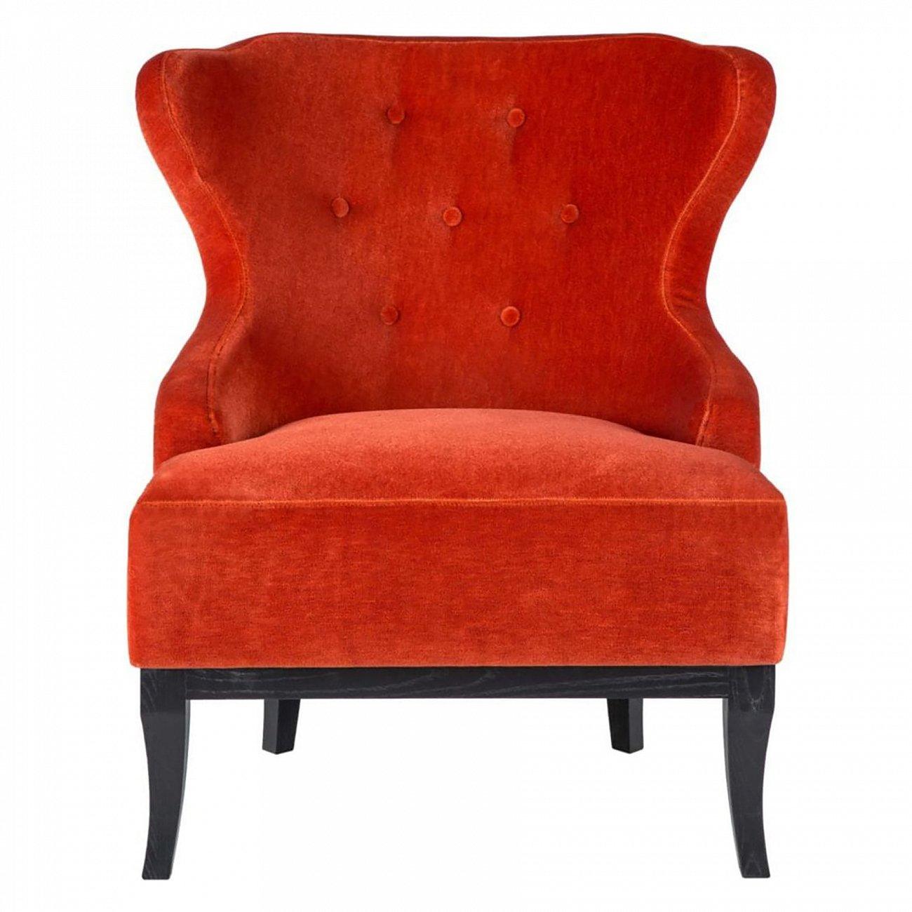 Купить Кресло Red velvet в интернет магазине дизайнерской мебели и аксессуаров для дома и дачи
