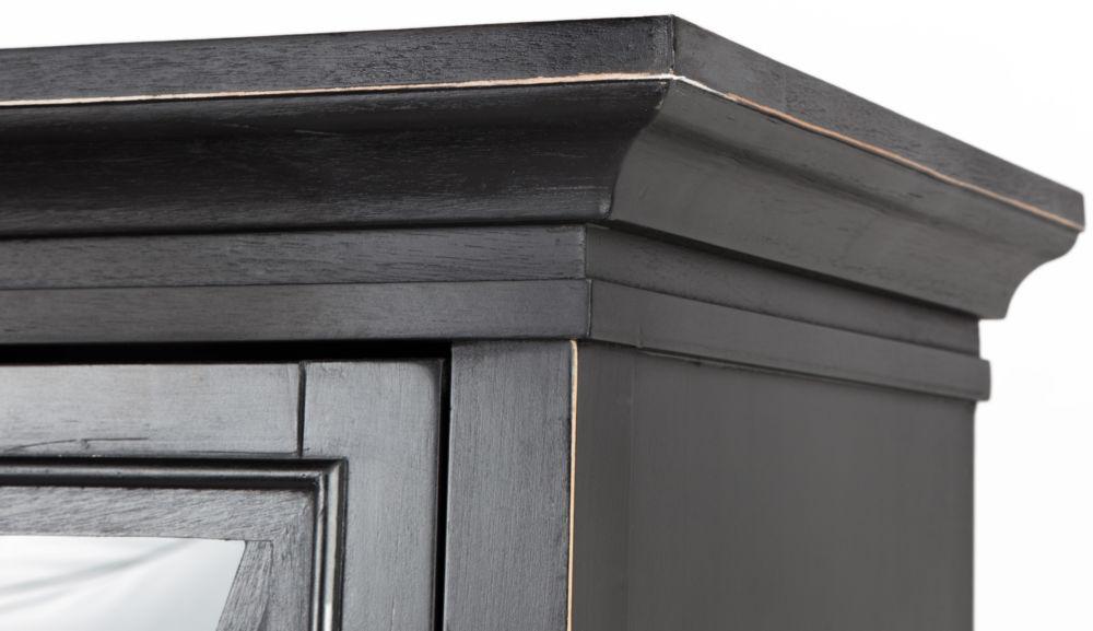 Шкаф кабинетный Magic black