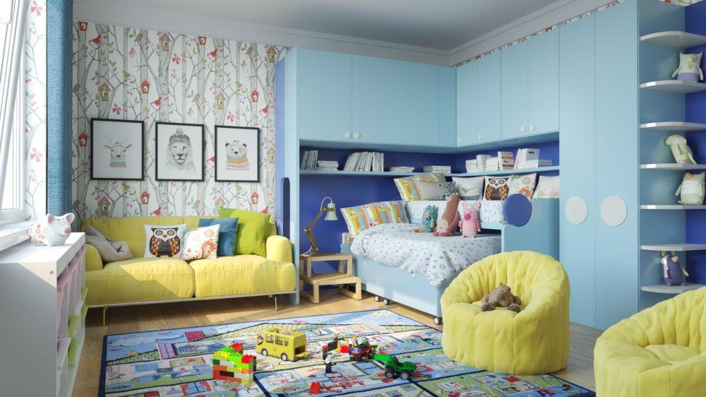 Купить Набор мебели для детской Klou+Polo в интернет магазине дизайнерской мебели и аксессуаров для дома и дачи