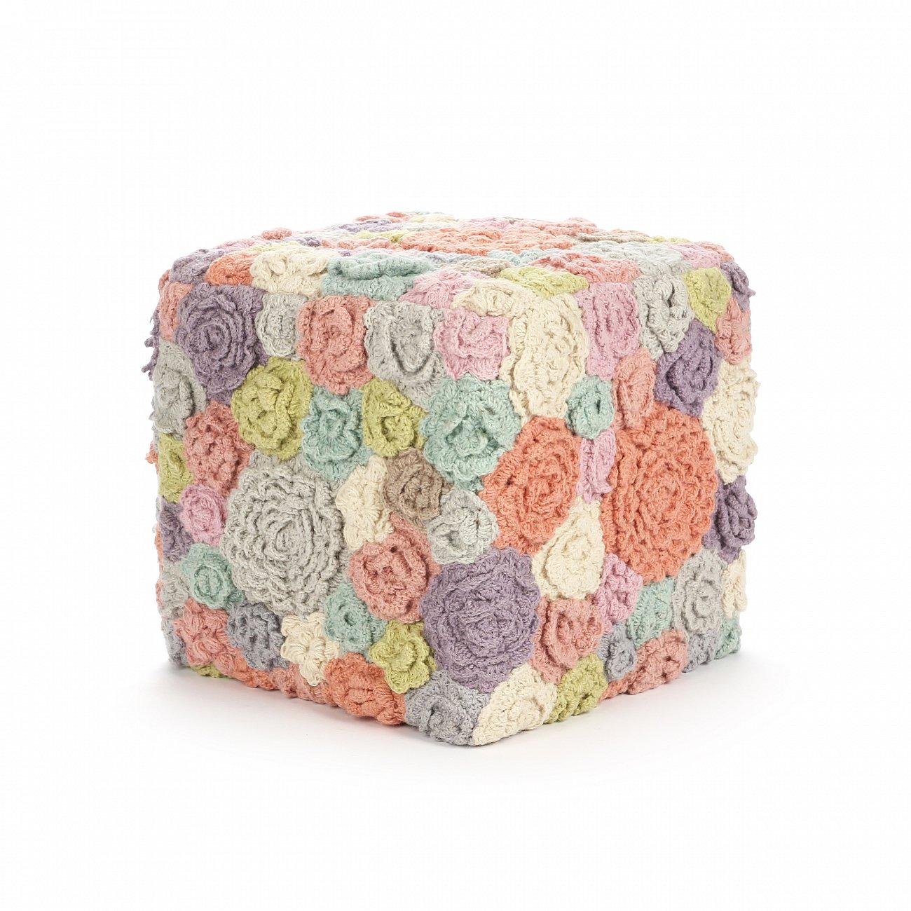 Купить Пуф Gardenia разноцветный в интернет магазине дизайнерской мебели и аксессуаров для дома и дачи