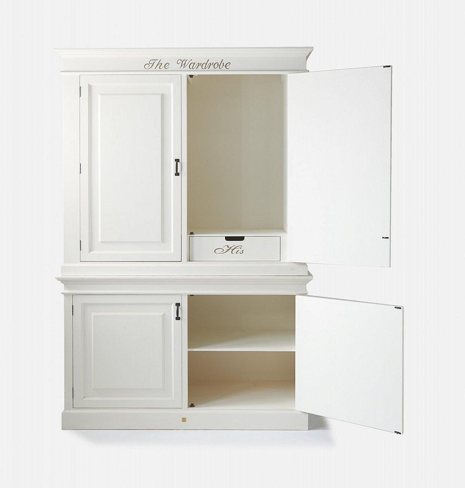 """Шкаф-гардероб """"Гардероб"""" 153 см Riviera Maison"""