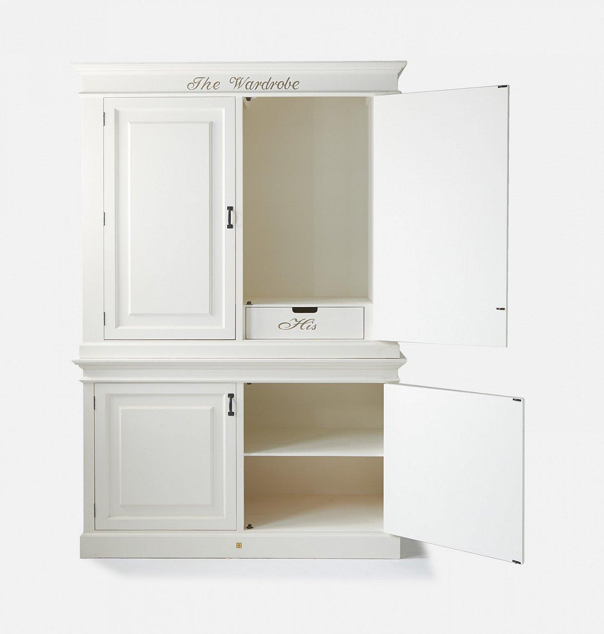 """Купить Шкаф-гардероб """"Гардероб"""" 153 см Riviera Maison в интернет магазине дизайнерской мебели и аксессуаров для дома и дачи"""