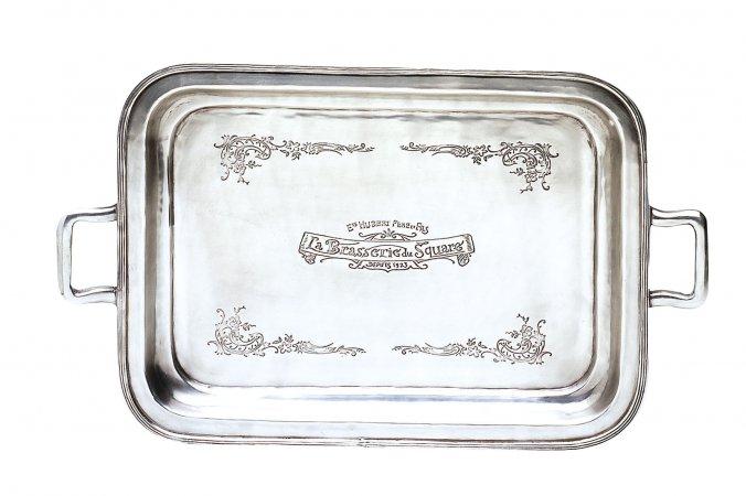 """Купить Поднос """"Фамильное серебро"""" LV в интернет магазине дизайнерской мебели и аксессуаров для дома и дачи"""