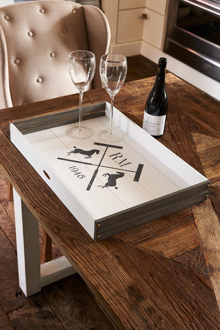 """Купить Поднос """"Кортина"""" х Riviera Maison r в интернет магазине дизайнерской мебели и аксессуаров для дома и дачи"""