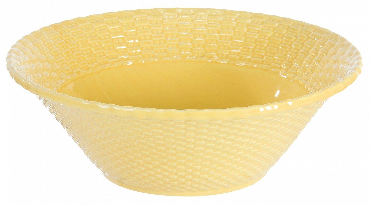 """Купить Салатник желтый """"Лоза"""" COMPTOIR de FAMILLE в интернет магазине дизайнерской мебели и аксессуаров для дома и дачи"""