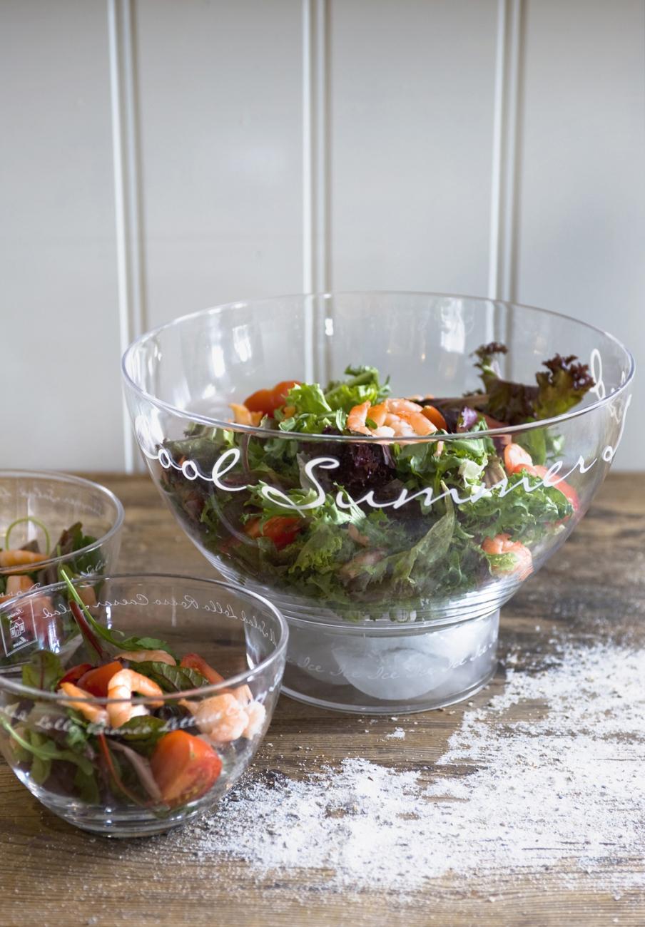 """Купить Салатник средний """"Летний салат"""" Riviera Maison r в интернет магазине дизайнерской мебели и аксессуаров для дома и дачи"""