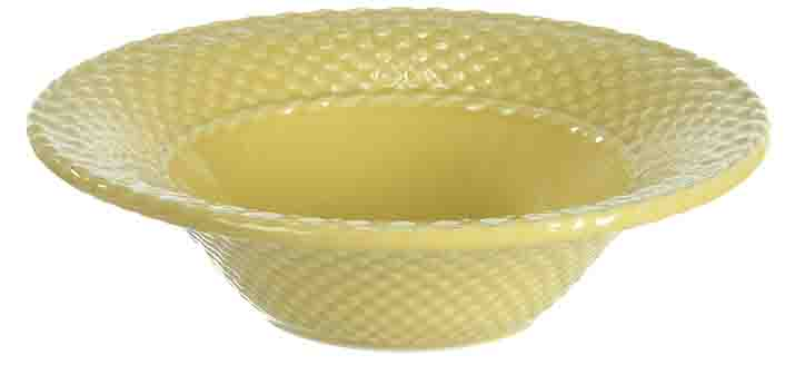 """Купить Тарелка суповая желтая """"Лоза"""" LV в интернет магазине дизайнерской мебели и аксессуаров для дома и дачи"""