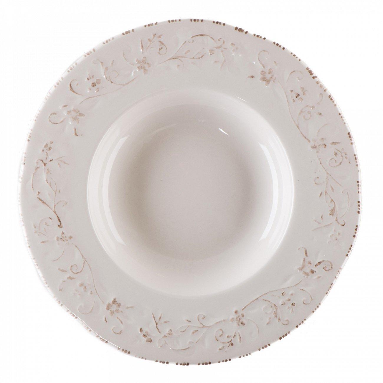 """Купить Тарелка суповая """"Лиза"""" LV в интернет магазине дизайнерской мебели и аксессуаров для дома и дачи"""