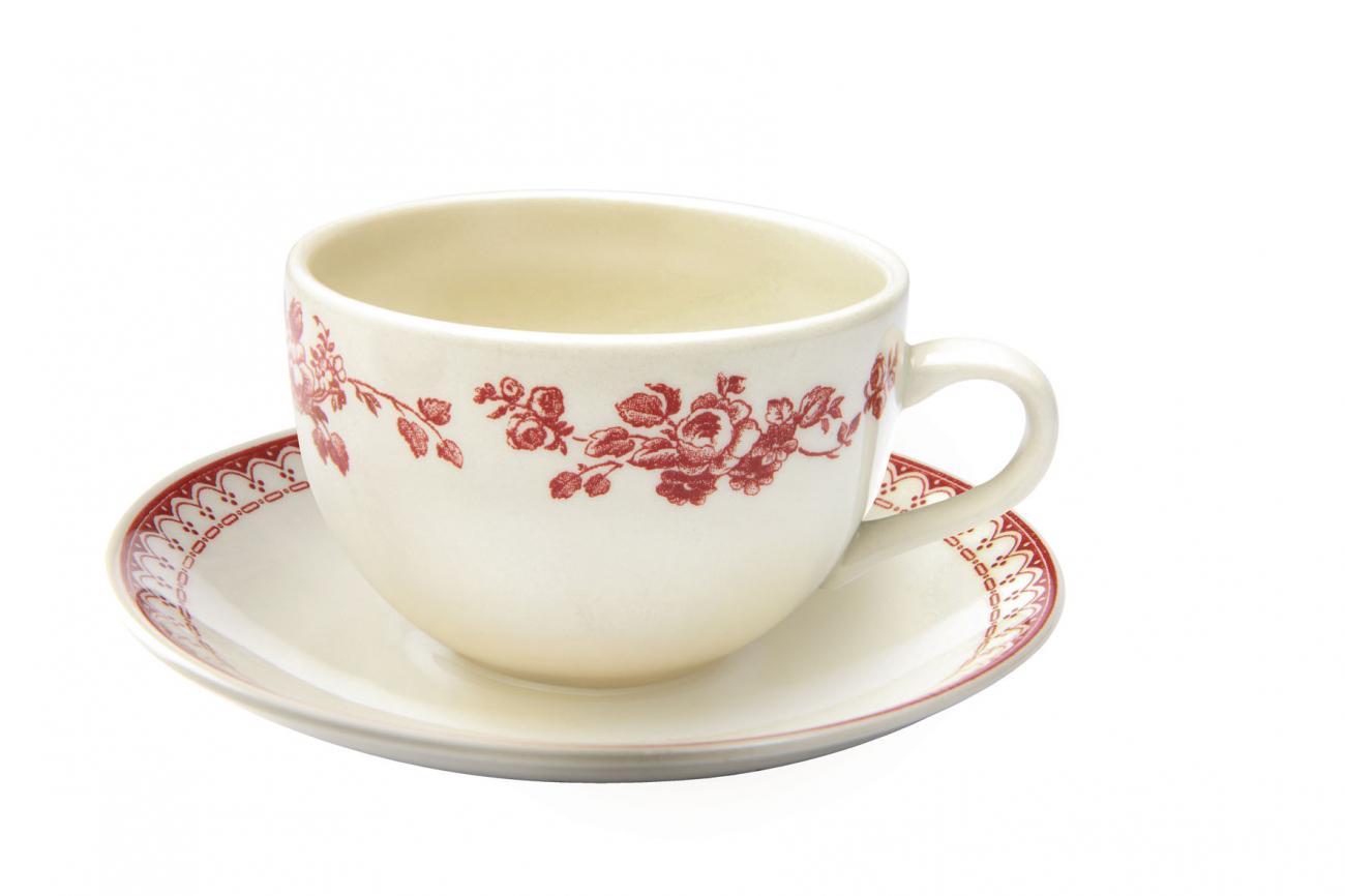 """Купить Чашка с блюдцем чайные """"Фаустина"""" COMPTOIR de FAMILLE в интернет магазине дизайнерской мебели и аксессуаров для дома и дачи"""