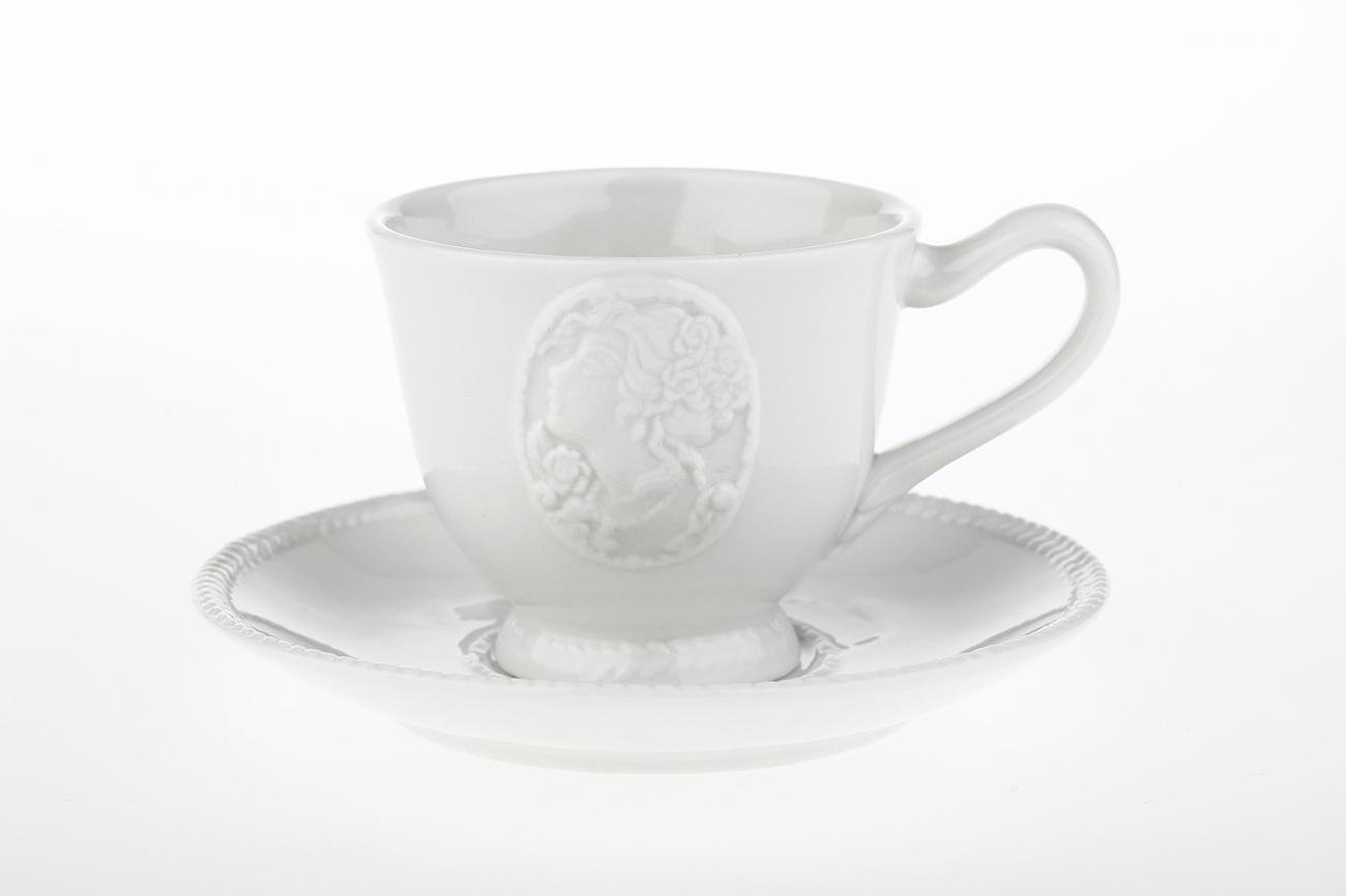 """Купить Чашка с блюдцем """"Медальон"""" LV в интернет магазине дизайнерской мебели и аксессуаров для дома и дачи"""