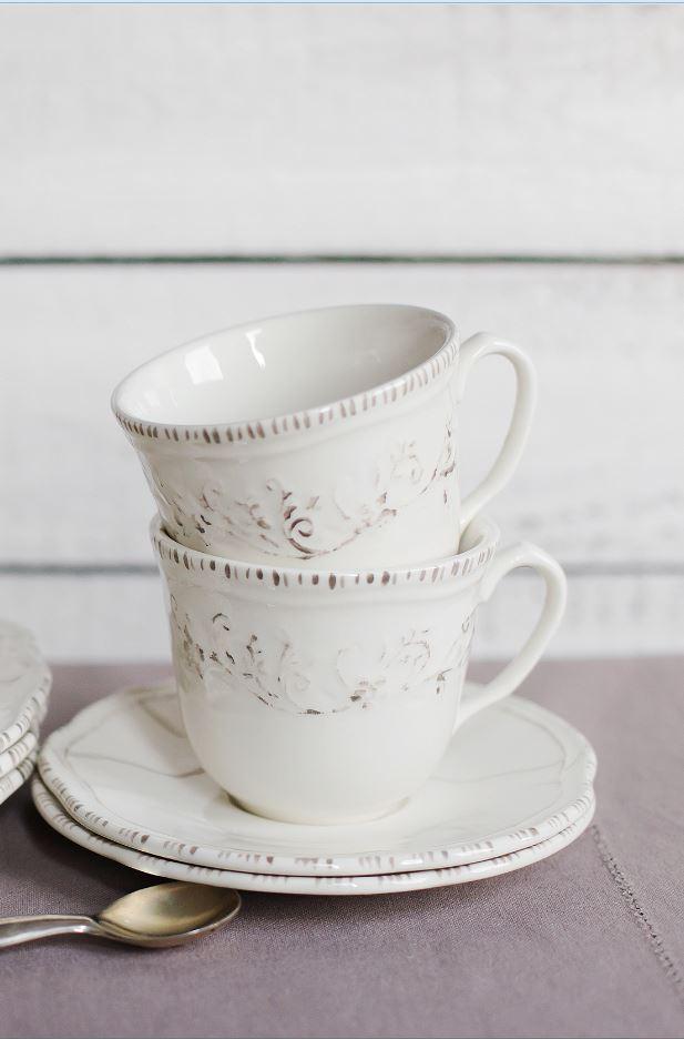 """Купить Чашка с блюдцем """"Лиза"""" LV в интернет магазине дизайнерской мебели и аксессуаров для дома и дачи"""