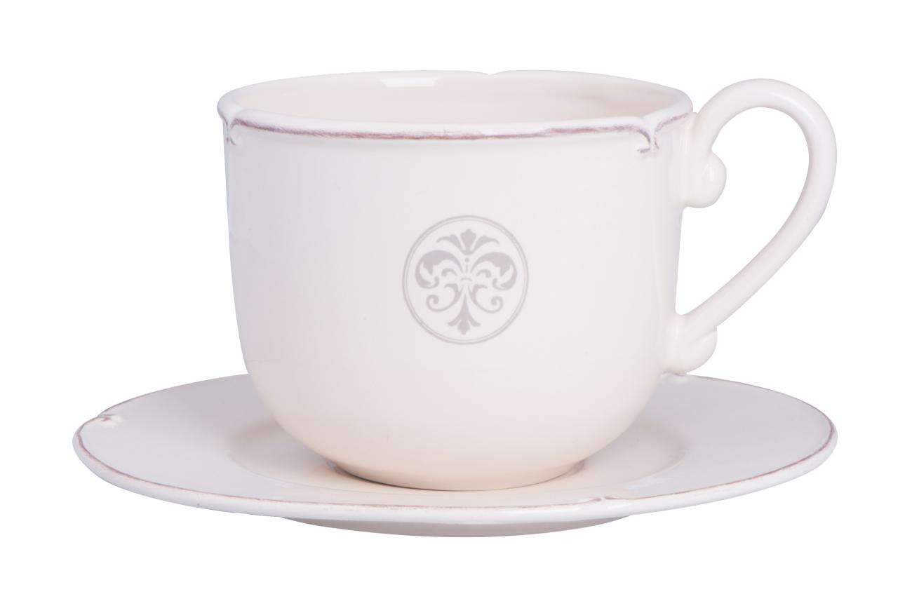 """Купить Чашка большая для завтрака """"Монограмма"""" LV в интернет магазине дизайнерской мебели и аксессуаров для дома и дачи"""