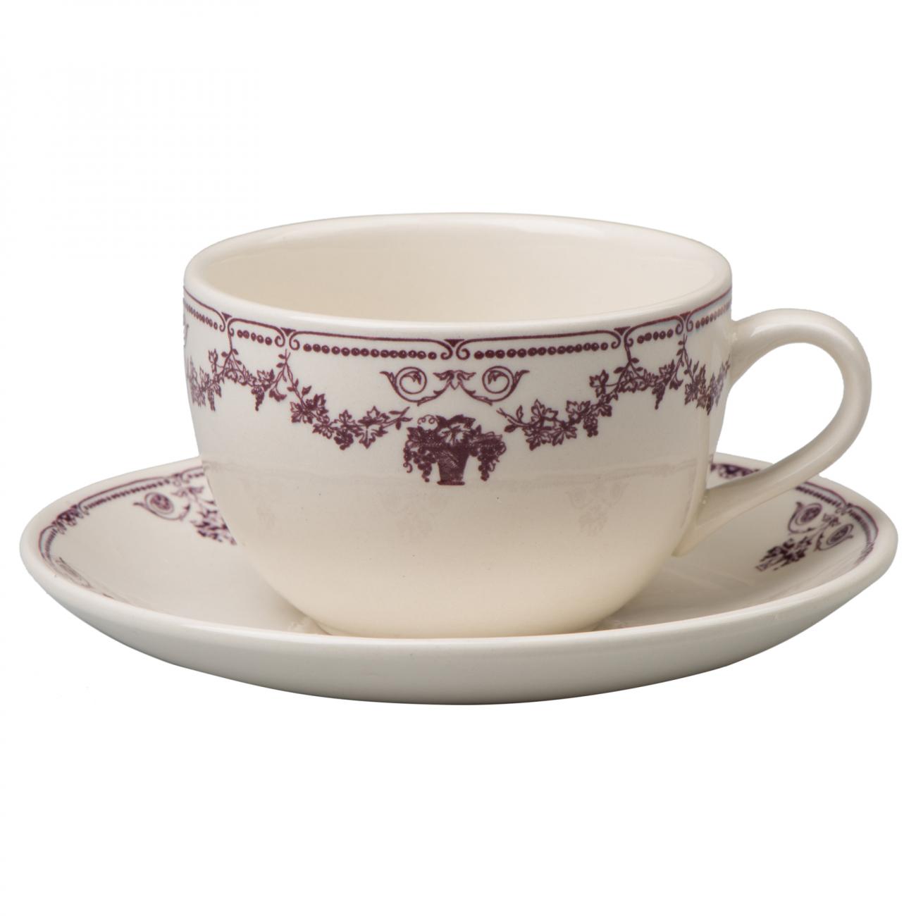 """Купить Чашка с блюдцем """"Гран Крю"""" LV в интернет магазине дизайнерской мебели и аксессуаров для дома и дачи"""