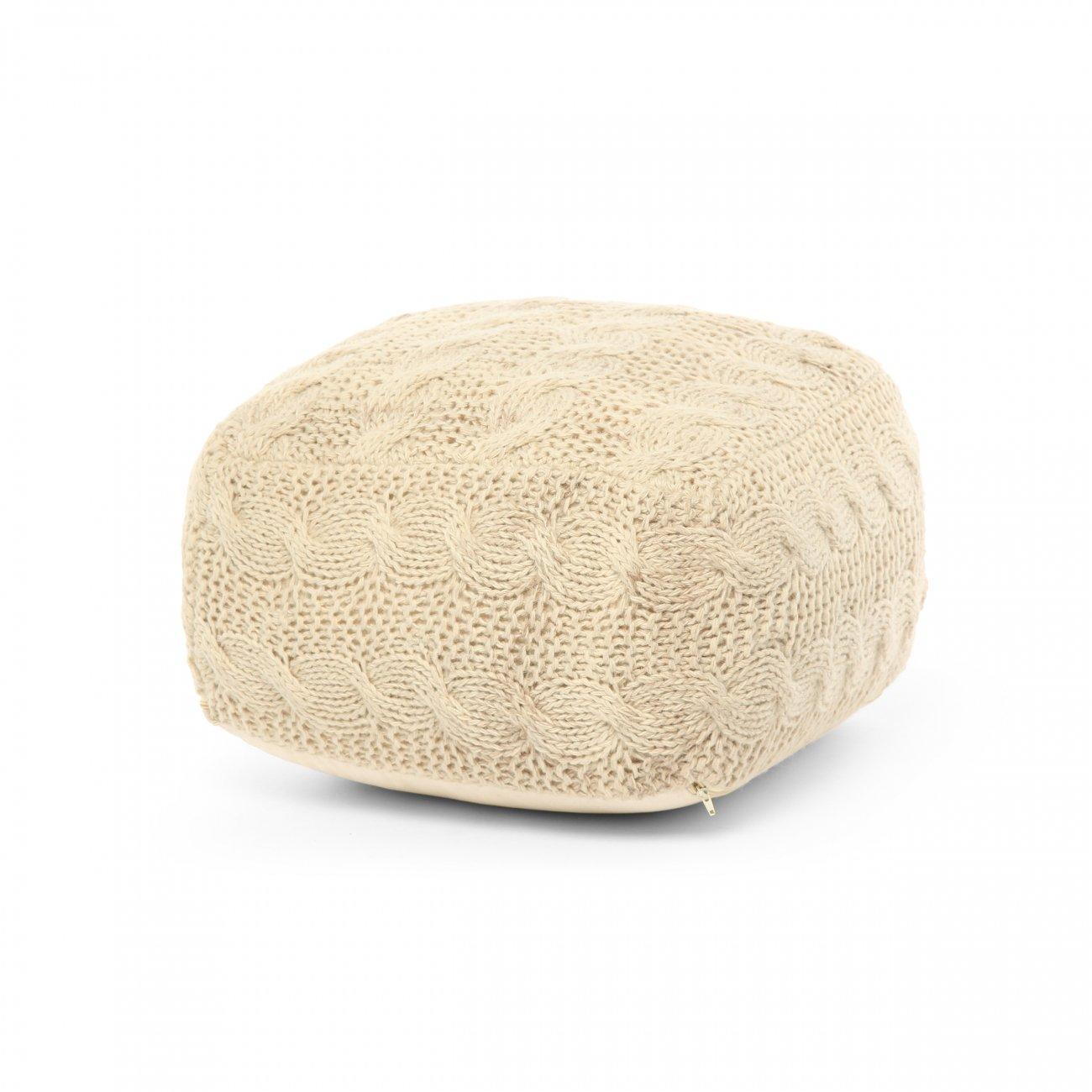 Купить Пуф Oslo слоновая кость в интернет магазине дизайнерской мебели и аксессуаров для дома и дачи