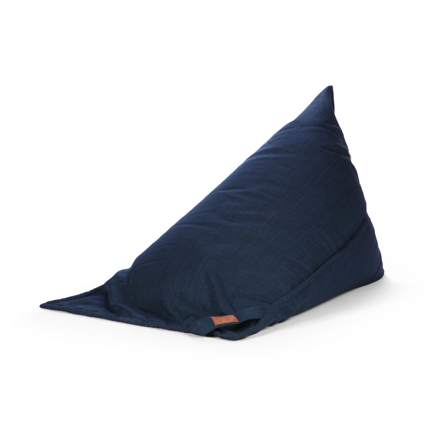 Купить Пуф Luxembourg темно-синий в интернет магазине дизайнерской мебели и аксессуаров для дома и дачи