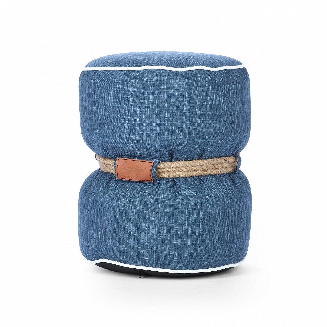 Купить Пуф Tam-Tam синий в интернет магазине дизайнерской мебели и аксессуаров для дома и дачи