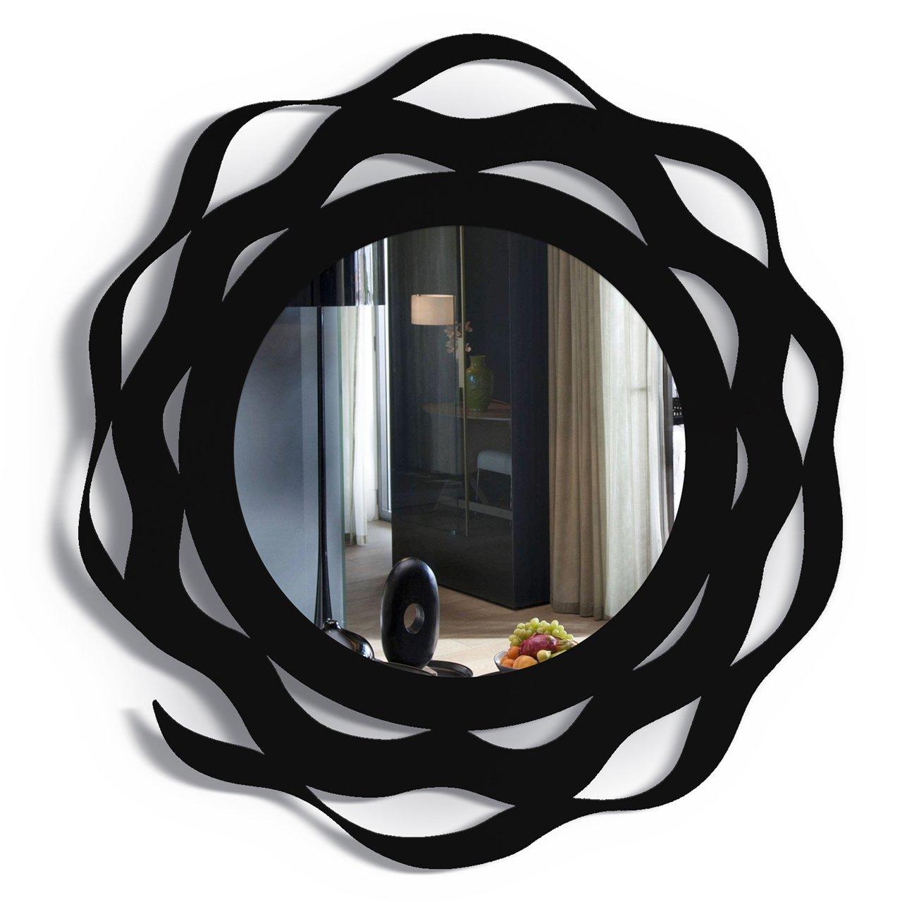 """Купить Зеркало """"SPLASH"""" чёрное в интернет магазине дизайнерской мебели и аксессуаров для дома и дачи"""