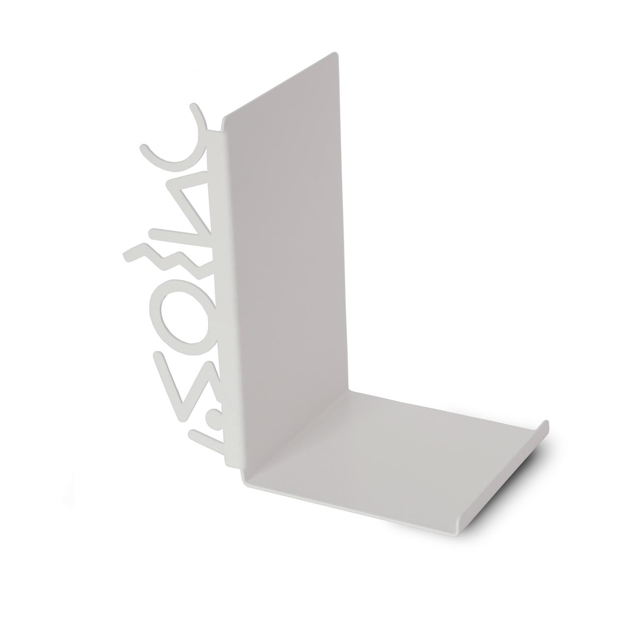 """Купить Держатель для книг """"Milano80"""" white в интернет магазине дизайнерской мебели и аксессуаров для дома и дачи"""