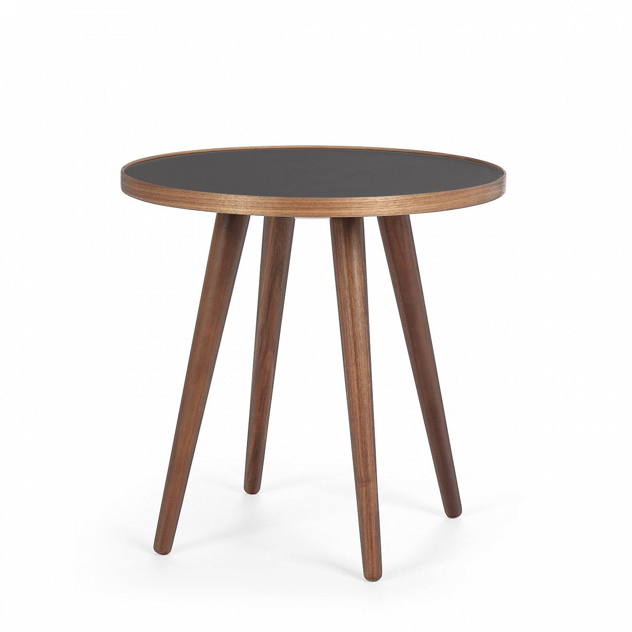 Купить Кофейный стол Sputnik чёрно-коричневый в интернет магазине дизайнерской мебели и аксессуаров для дома и дачи