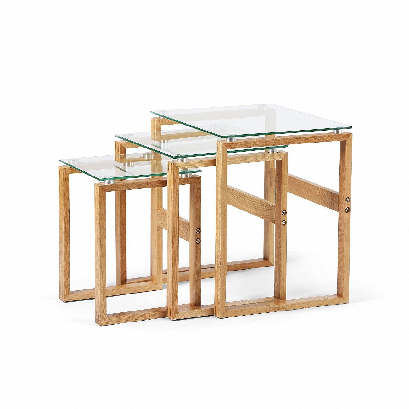Купить Набор кофейных столов Matrix в интернет магазине дизайнерской мебели и аксессуаров для дома и дачи