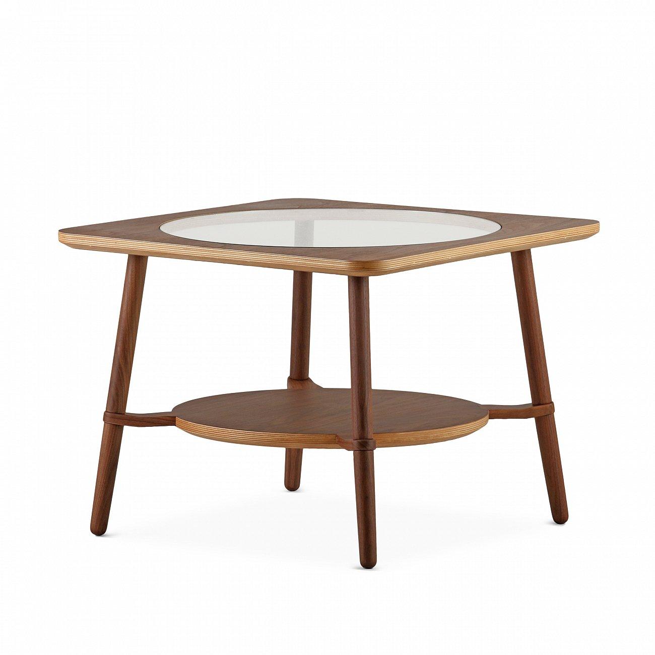 Купить Кофейный стол Cutout тёмно-коричневый в интернет магазине дизайнерской мебели и аксессуаров для дома и дачи