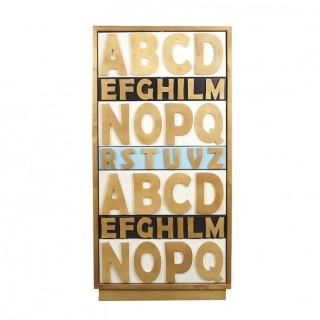 Купить Комод «Alphabeto Birch» 7 ящиков в интернет магазине дизайнерской мебели и аксессуаров для дома и дачи