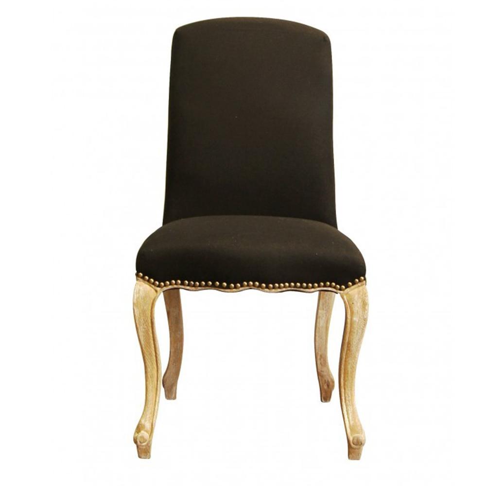 Купить Черный стул из массива дуба Модерн в интернет магазине дизайнерской мебели и аксессуаров для дома и дачи