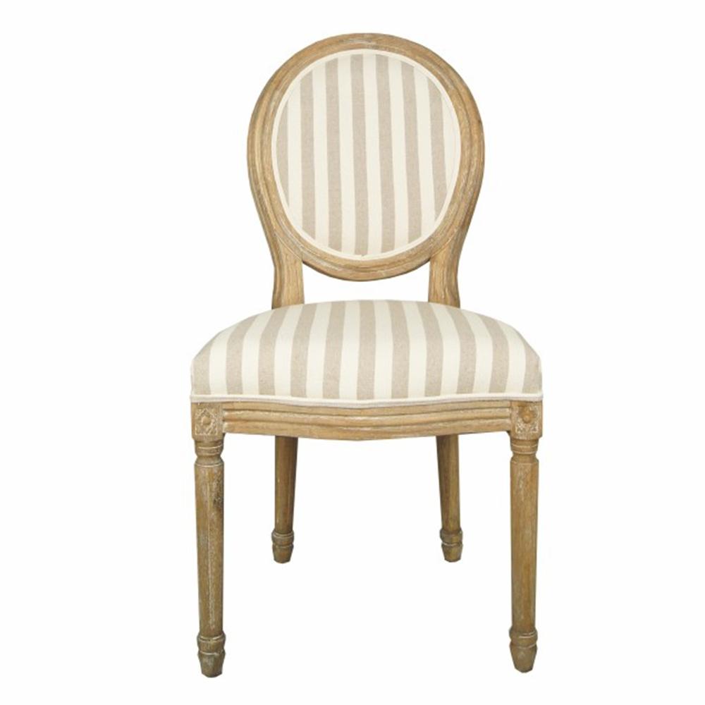 Купить Стул «Country» в полоску в интернет магазине дизайнерской мебели и аксессуаров для дома и дачи