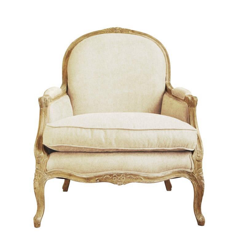 Купить Большое винтажное мягкое кресло Прованс в интернет магазине дизайнерской мебели и аксессуаров для дома и дачи