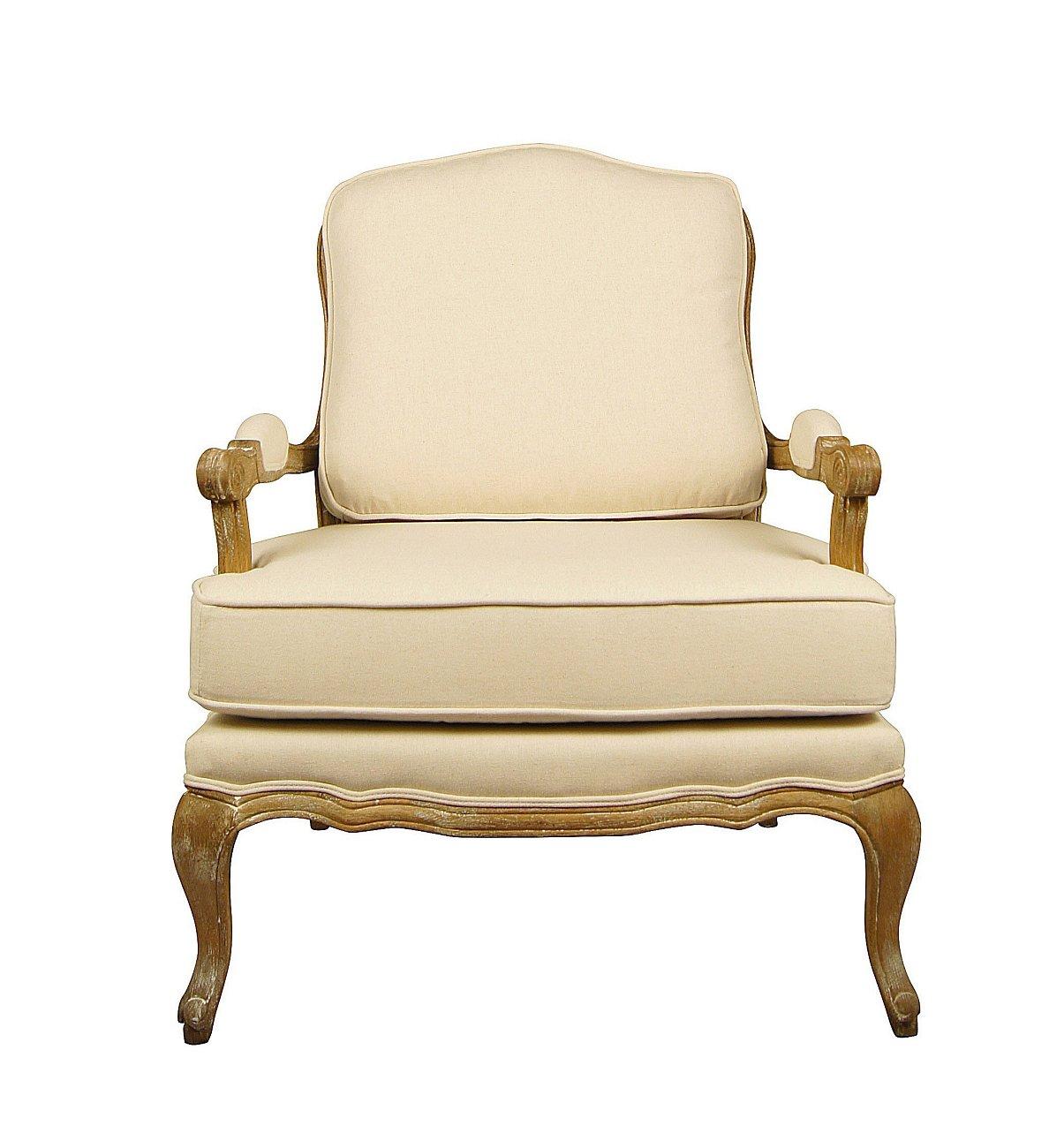 Купить Кресло с подушкой (Франция, Прованс) в интернет магазине дизайнерской мебели и аксессуаров для дома и дачи