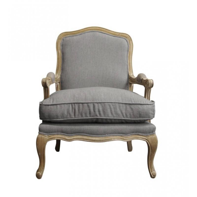 Купить Французcкое кресло Шебби шик с подлокотниками в интернет магазине дизайнерской мебели и аксессуаров для дома и дачи